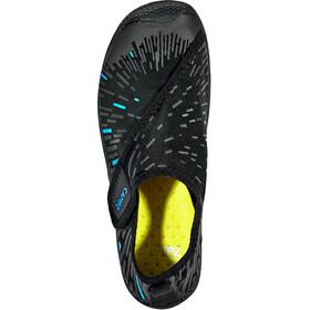 CAMPZ Chaussures d'eau avec Velcro, black/blue
